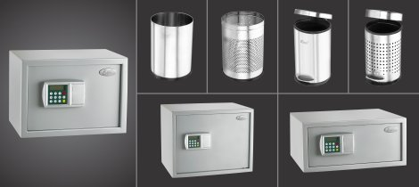 Digital Safe & Dustbin