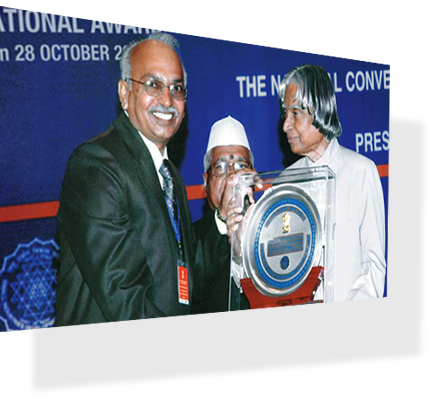 NATIONAL AWARD for BEST QUALITY from his excellency